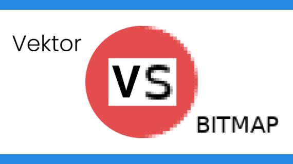 Hal yang harus diketahui, perbedaan Vektor dan Bitmap
